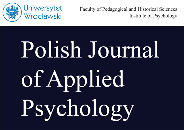 Polish Journal of Applied Psychology